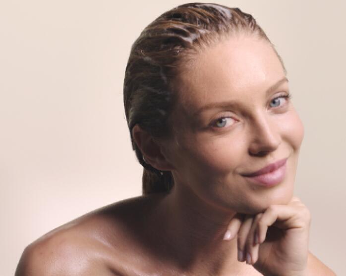 Ergebnisse OKARA BLOND Leuchtkraft-Shampoo