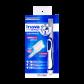 Efficacité sonique, douceur manuelle. Adaptée aux dents et gencives sensibles.